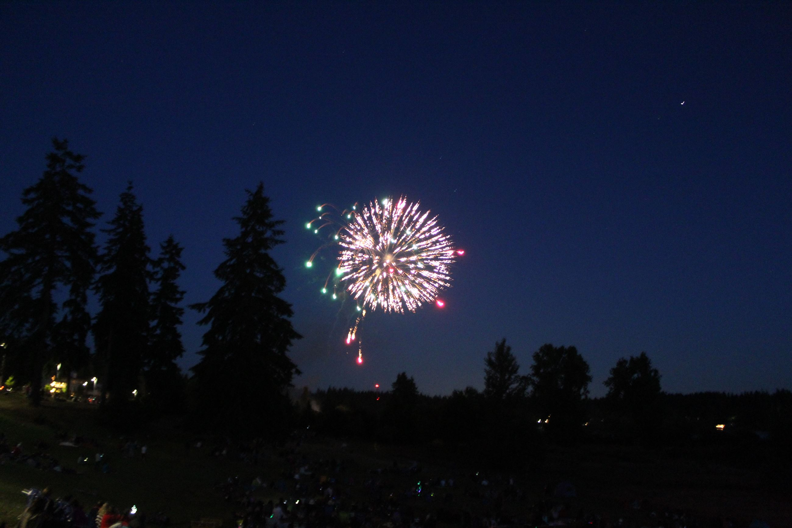 July 3 Fireworks Show Event