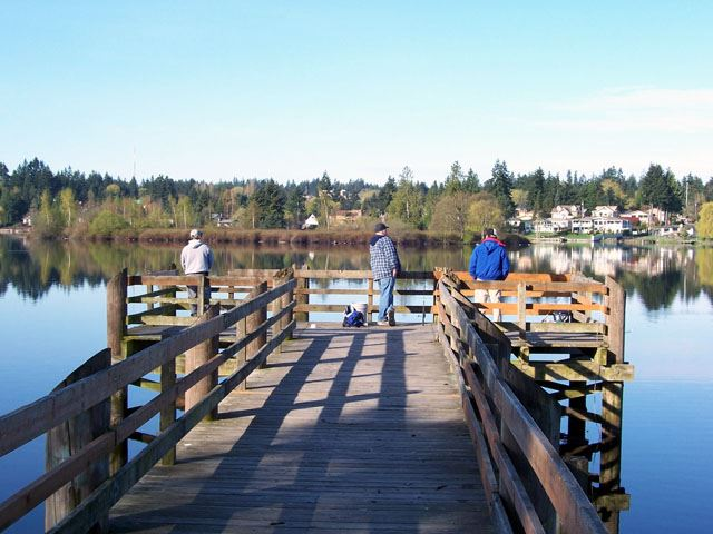 Ballinger Fishing Dock